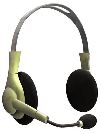 ヘッドフォン 写真素材