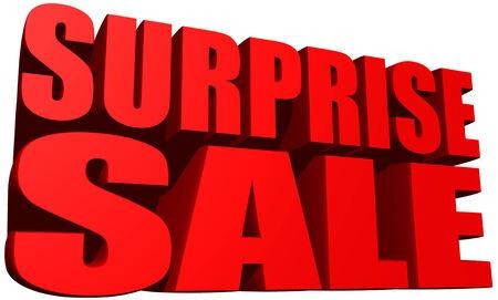 Surprise sale