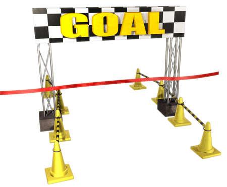 Goal 写真素材