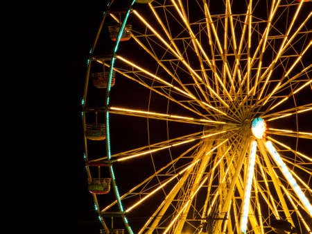 Ferris wheel at Night photo