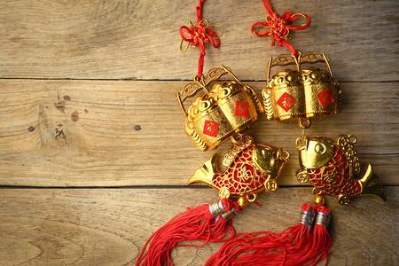 Chinese New Year Dekoration  Standard-Bild