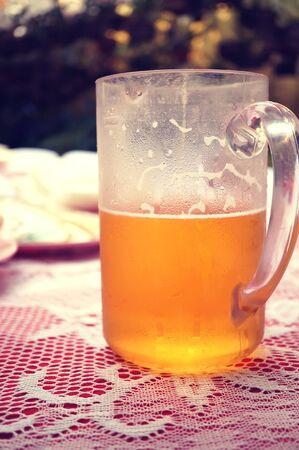 unbottled: light beer in party of wedding