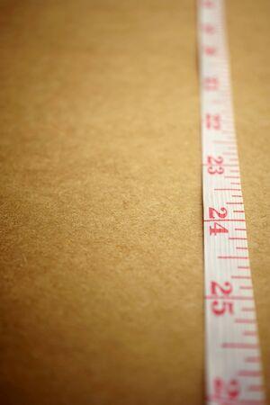 cintas metricas: Cinta de medici�n en el papel del arte para el fondo concepto de dieta