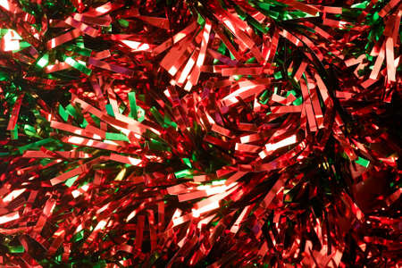 the tinsel: tinsel background for Christmas, happy new year