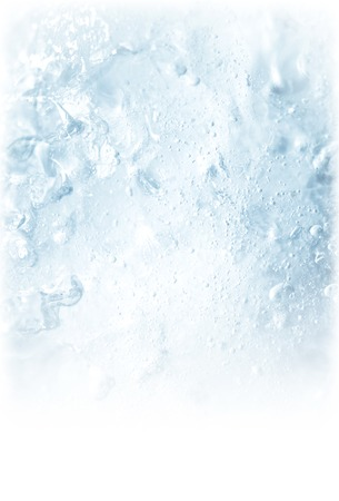 ice water: ice backgrounds Stock Photo