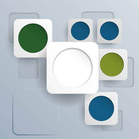 overlapping: Overlapping simple squares background.Vector Design