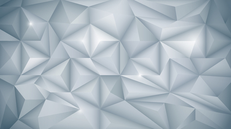 abstract background vector: Vector Abstract 3D Geometric, Polygon ( polygonal ), Triangle pattern shape. White and light gray color in low-poly background. Polygon background for your banner, template, business, network and web design