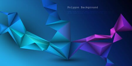 Vector 3D Geometric, Polygon, Line, Triangle pattern shape for wallpaper.