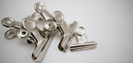 clamps: Roller clamps stainless steel Paper Clip