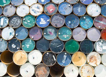 brent: barrel oil background