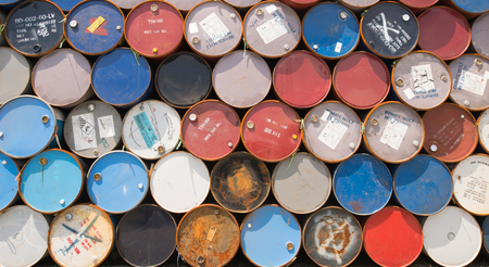 opec: barrel oil background