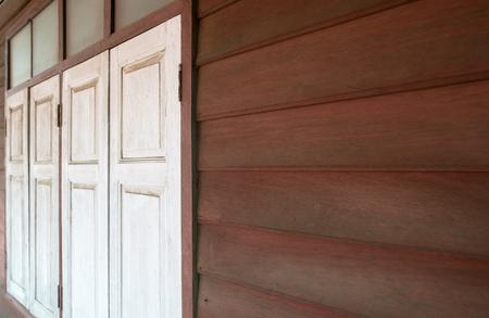 Old wooden door background Banco de Imagens