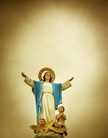 Statue der Barmherzigkeit sah friedlich Standard-Bild - 35566818