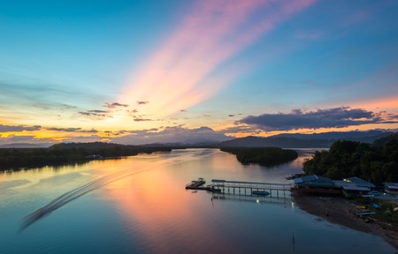 malaysia culture: Malaysia Culture in sunset
