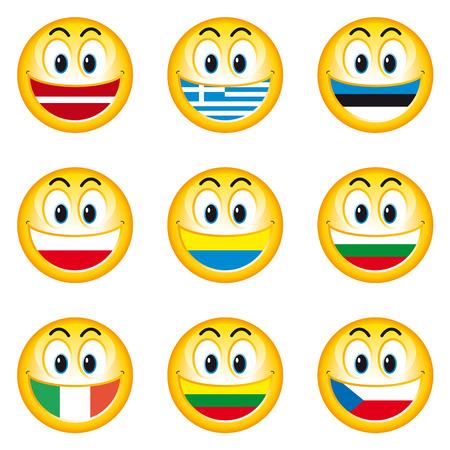 bandera de polonia: Indicadores de emoticonos 3