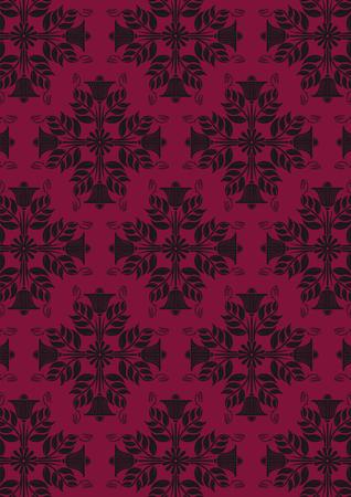 ancient purple wallpaper Vector
