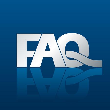 faq icon: FAQ Preguntas frecuentes Vectores