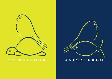 logotipo animal: logotipo de animal Vectores
