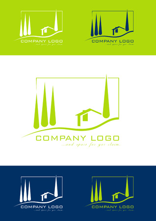 mediterranean houses: Holiday home logo