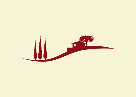 mediterranean home: Holiday cottage logo