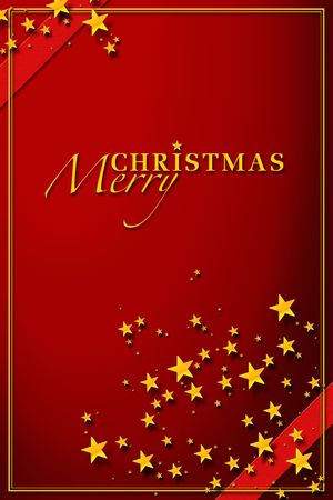 festively: Red Christmas Card