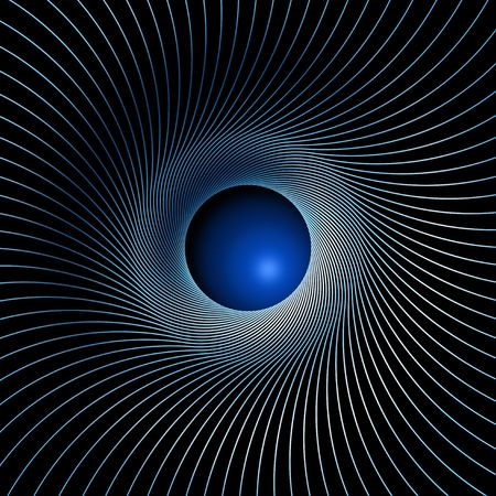 absorption: Illustration of an abstracted maelstrom background image