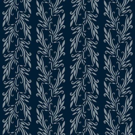Illustration of an ancient ornament wallpaper or textile texture; it can be used continuously Vector