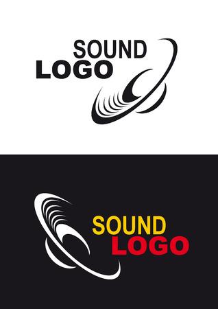 スピーカーの概略図アイコンまたはロゴを使用します。
