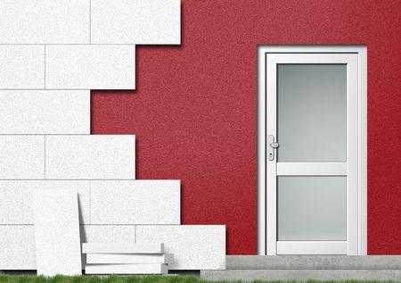 devanture: Efficacit� �nerg�tique en isolant une maison