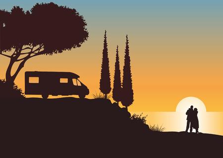 caravan: Holidays with caravan