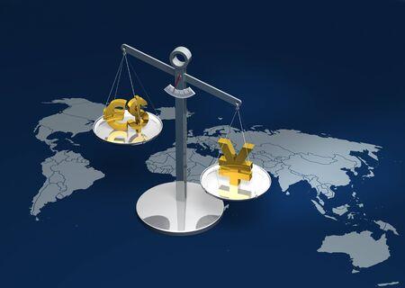 Strong Yen rendering