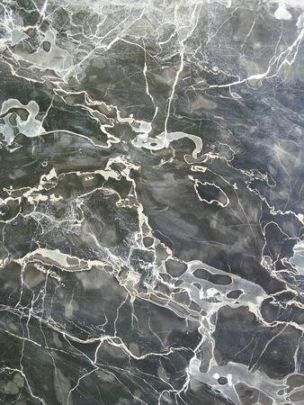 polished: black marble Stock Photo