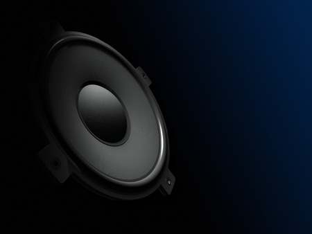 grooves: Subwoofer Stock Photo