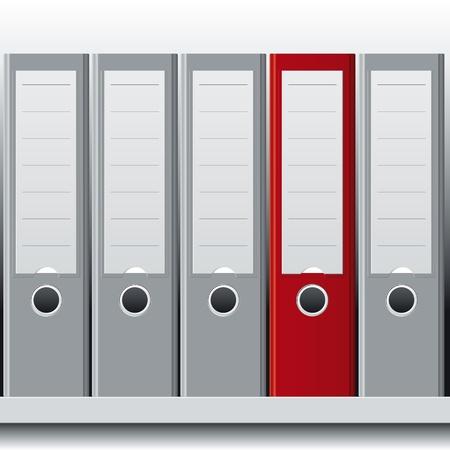 archivi: fila di leganti