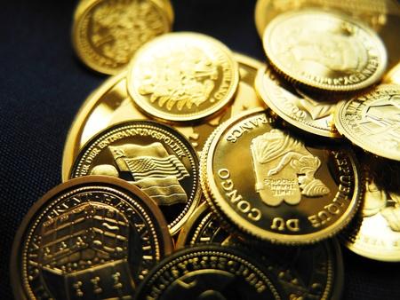a rare:      Gold coins