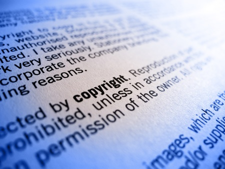 plagiarism: copyright small print
