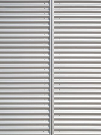 aluminium wallpaper: corrugated aluminum background upright