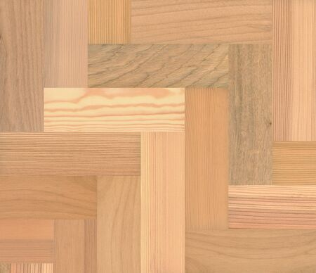 a large amount of different wood samples photo