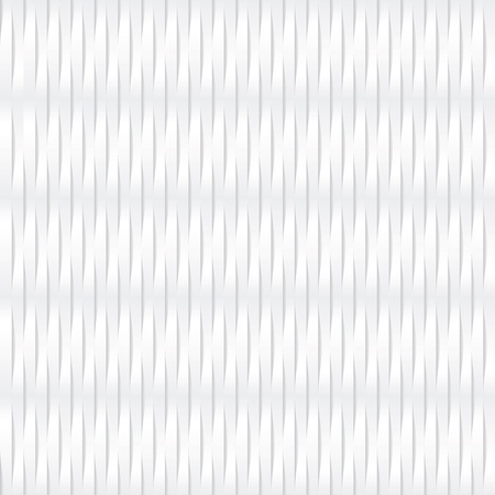 continuously: seamless white corrugated wickerwork background texture