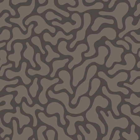 amorphous: seamless abstract amorphous background texture with natural shapes Illustration