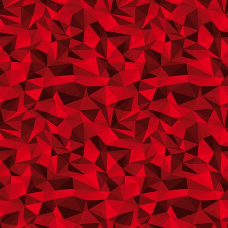 prisma: sin fisuras vector rojo poligonal fondo profundo alivio Vectores
