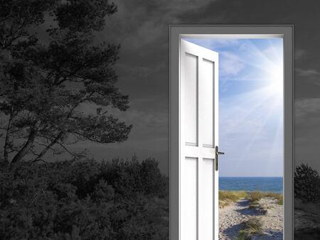 dia y noche: En cuanto a la imagen conceptual del día, la noche, el clima, la depresión, las vacaciones