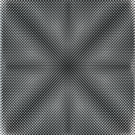 linearly: abstract glossy black and white background grid Stock Photo