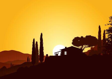 mediterranean homes: holiday home in beautiful mediterranean landscape
