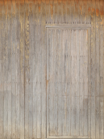 camouflage symbol with invisible hidden vintage door Stock Photo