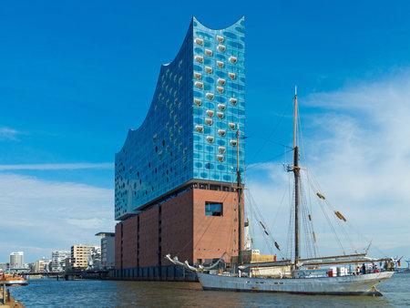 Hamburg, Germany - May 15,2018: The