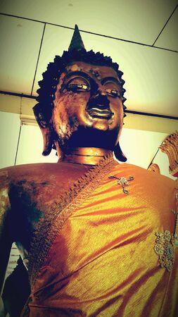 gold: Gold Image of buddha Stock Photo