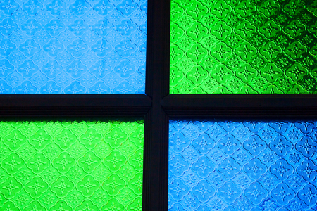 blue green background: Blue Green Glass,background,color Stock Photo