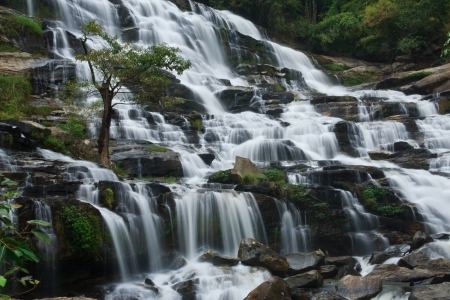 Waterfalls  Northern Thailand photo