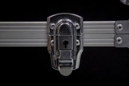 key hole: Key hole for the lock   open storage box Stock Photo